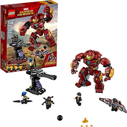 LEGO Marvel The Hulkbuster Smash-Up - Super Heroes Avengers - Infinity War Set 76104
