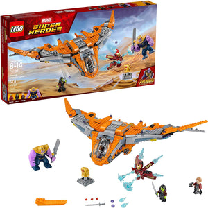 LEGO Marvel Super Heroes Thanos: Ultimate Battle Set 76107 (674 Pieces)