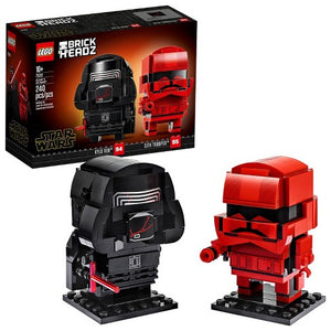 LEGO Star Wars Kylo Ren & Sith Trooper Brickheadz Set 75232