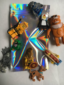 Random BLIND MINIFIGURE BAG $10-$50 Value Figures! Series - Vintage - Rare - Hard to find Figs!