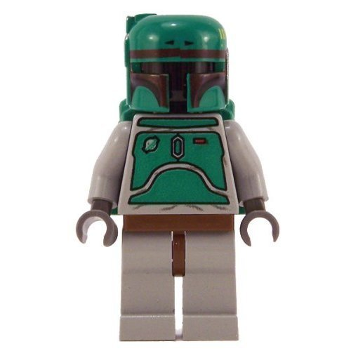 LEGO Boba Fett Classic Star Wars Minifigure Original Grey Set 6209