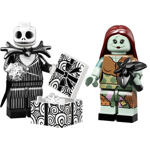 LEGO Jack & Sally Skellington Disney Minifigure pair