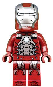 LEGO Iron Man Mark 5 Silver Minifigure