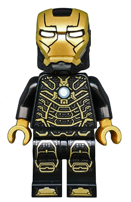 LEGO Iron Man Mark 41 Black suit Minifigure