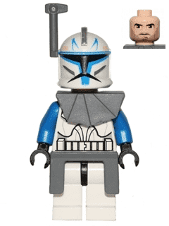 LEGO Commander Rex Minifigure Clone Wars 2008 Original Star Wars