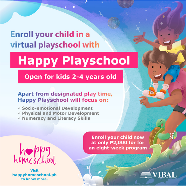 Vibal's Happy Playschool now open for enrollment