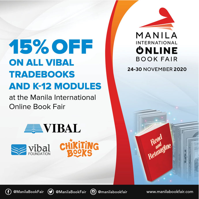 Vibal joins first Manila International Online Book Fair