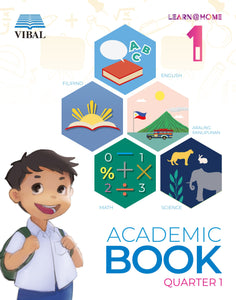 Academic Book Grade 1 (Learn at Home)
