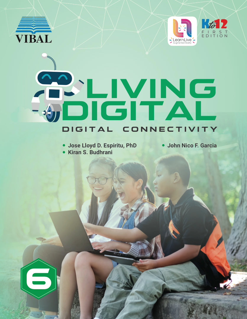 Living Digital Grade 6: Digital Connectivity (ICT)