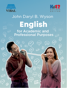 English for Academic and Professional Purposes (Revised) (SHS)