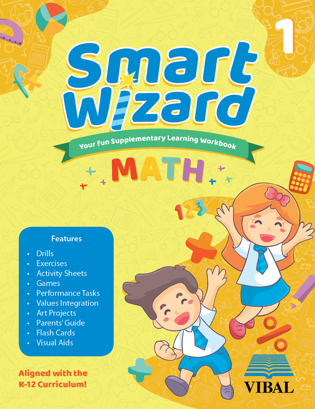 Smart Wizard Math Grade 1