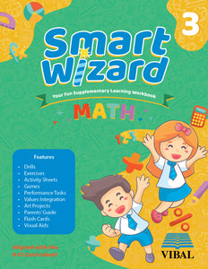 Smart Wizard Math Grade 3