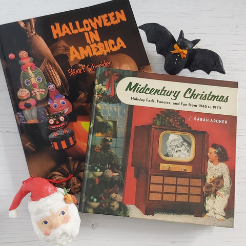 Halloween in America and Midcentury Christmas books