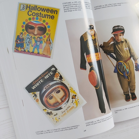 vintage Halloween costumes from the book Halloween in American Ed 2 by Stuart L Schneider