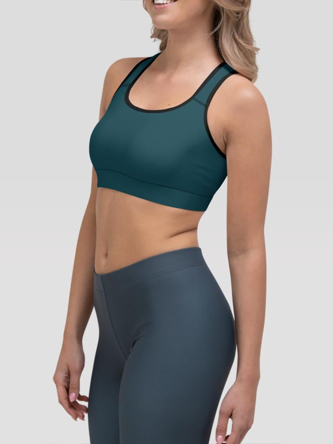 Harbor Clash Sports Bra