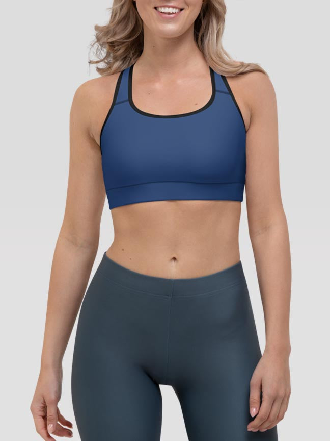 Night Clash Sports Bra