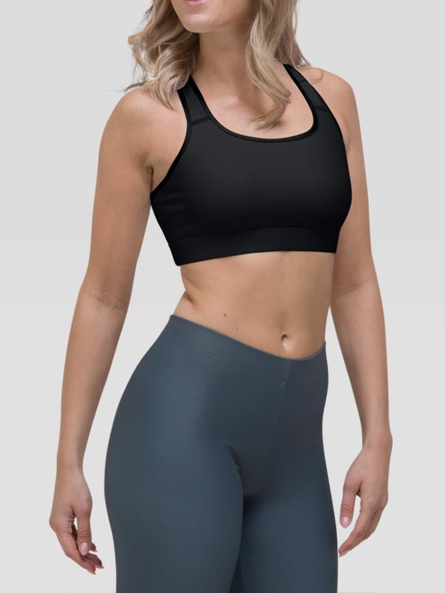 Onyx Clash Sports Bra