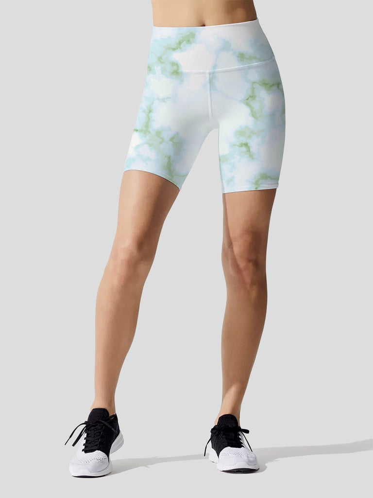 Pastel Marble Green Indio Bike Short
