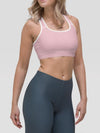 Pastel Pink Alpha Padded Sports Bra