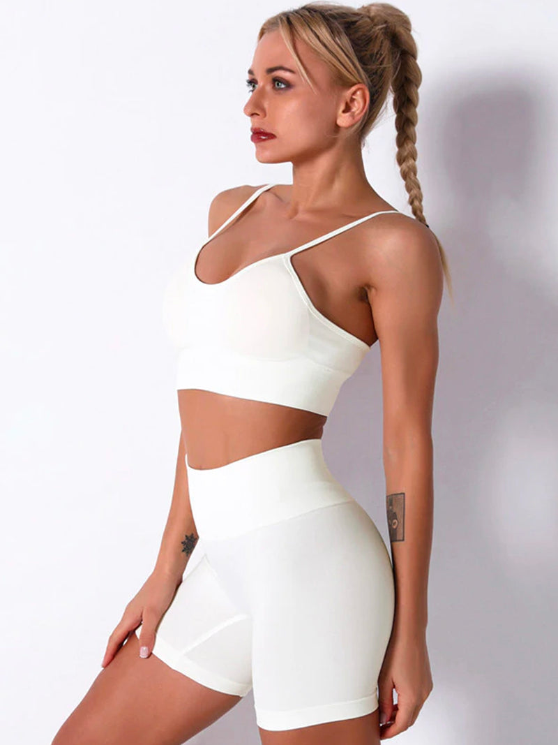 Coconut Server Sports Bra by Booty Clothing
