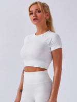 Key Lime Court Crop Top