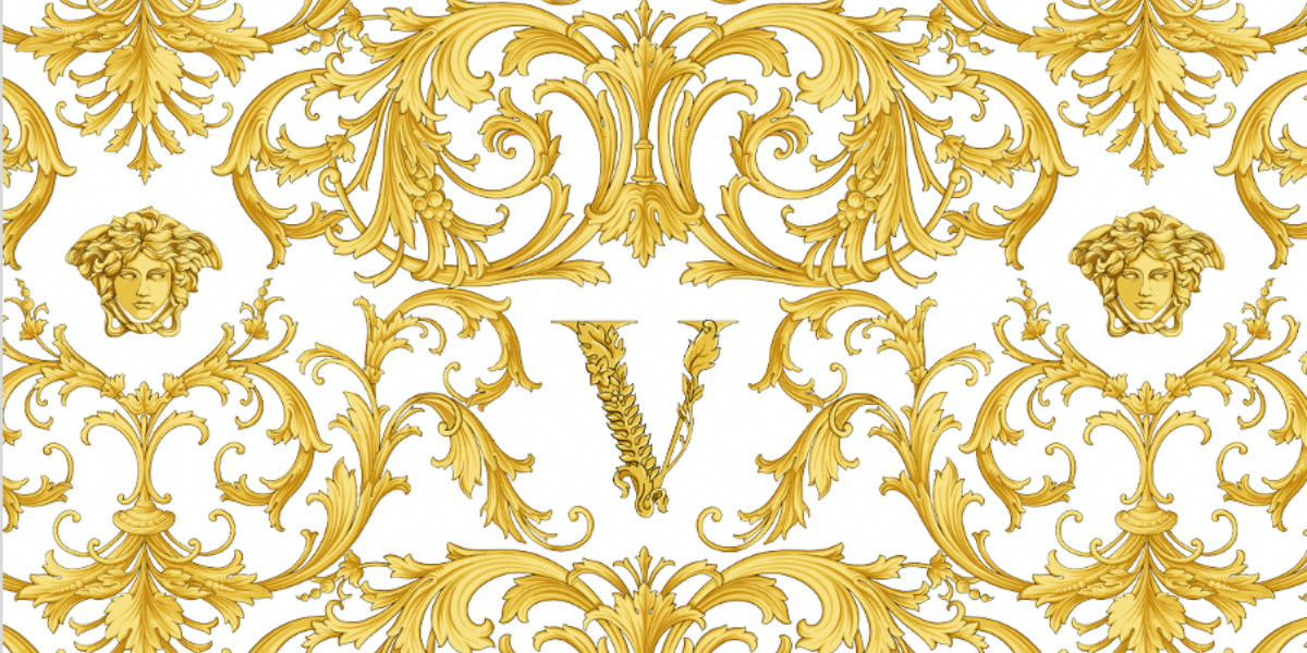 VERSACE BAROCCO ACANTHUS - JUNIOR GIRL