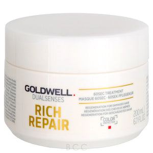 Dualsenses Rich Repair 60sec Treatment - The Color Studio & Salon