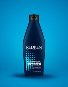 COLOR EXTEND BROWNLIGHTS SULFATE-FREE BLUE CONDITIONER by Redken - The Color Studio & Salon