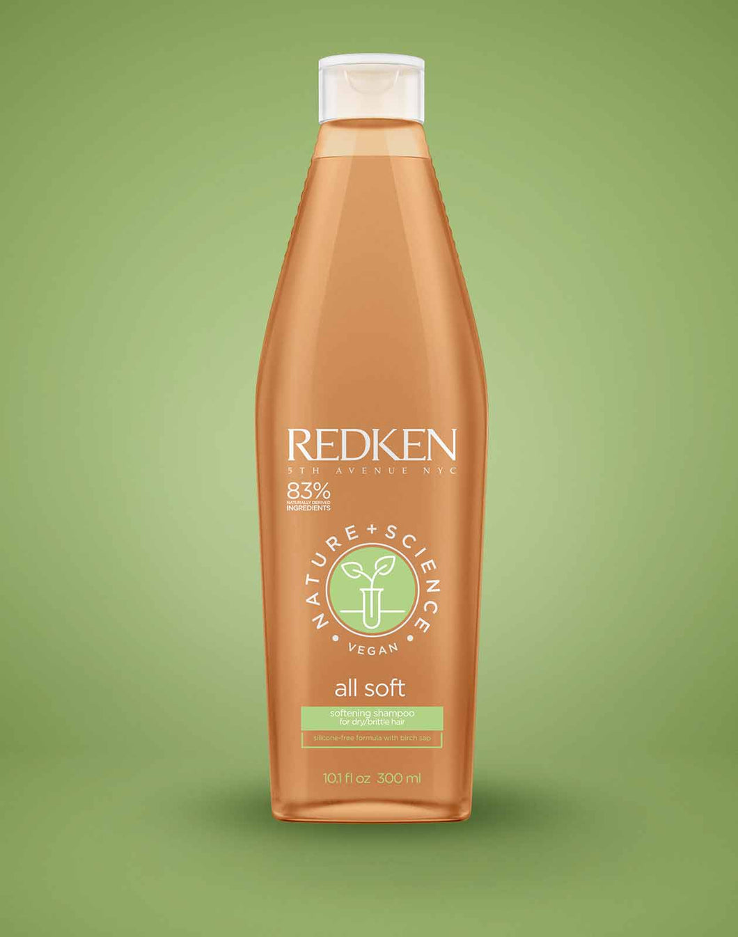 NATURE + SCIENCE ALL SOFT SULFATE-FREE SHAMPOO by Redken - The Color Studio & Salon