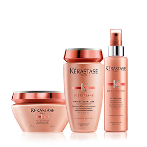 Discipline Anti-Frizz Deep Treatment Hair Care Set - The Color Studio & Salon