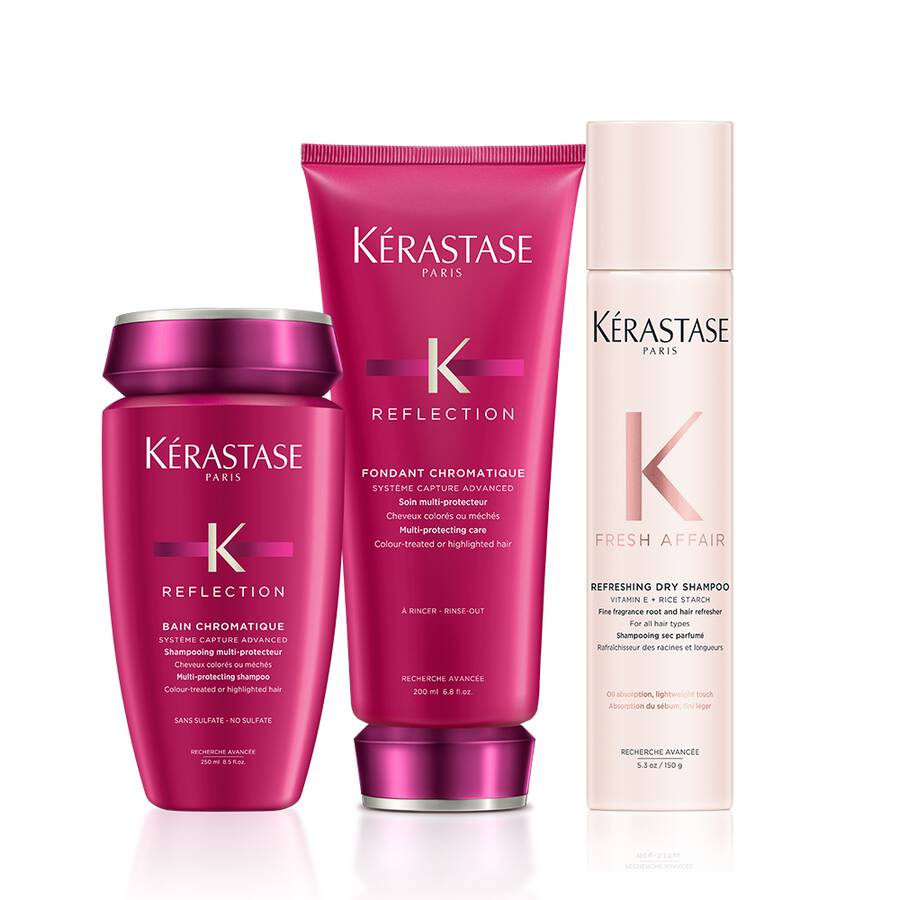 Reflection Colored Hair Fresh Affair Dry Shampoo Hair Set by Kerastase - The Color Studio & Salon