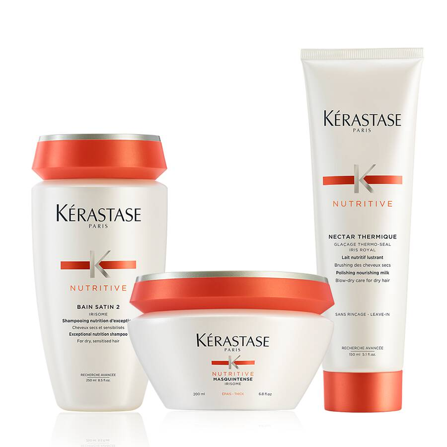 Nutritive Brittle And Dry Hair Deep Treatment Hair Care Set by Kerastase - The Color Studio & Salon
