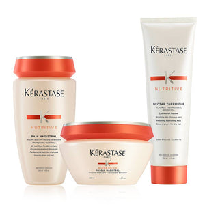 Nutritive Severely Dry Hair Deep Treatment Hair Care Set by Kerastase - The Color Studio & Salon