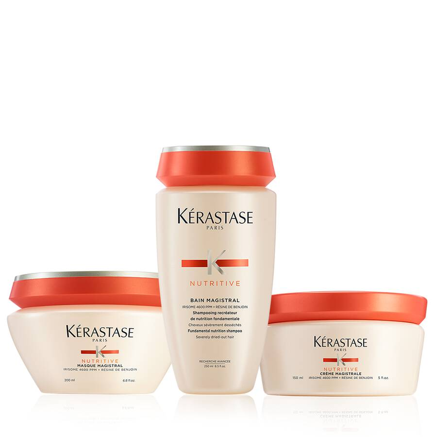 Nutritive Severely Dry Hair Moisturizing Hair Care Set by Kerastase - The Color Studio & Salon