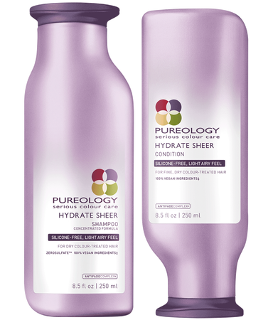 HYDRATE SHEER SHAMPOO + CONDITION DUO by Pureology - The Color Studio & Salon