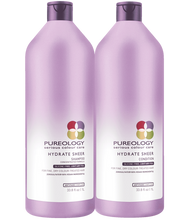 Load image into Gallery viewer, HYDRATE SHEER SHAMPOO + CONDITION DUO by Pureology - The Color Studio & Salon