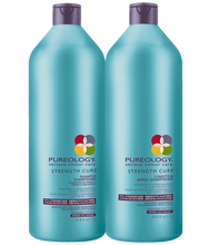 Load image into Gallery viewer, STRENGTH CURE SHAMPOO + CONDITION DUO by Pureology - The Color Studio & Salon