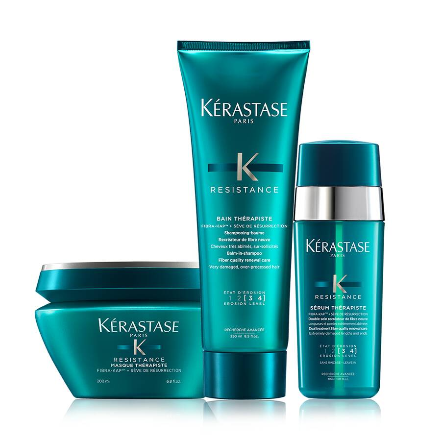 Therapiste Damaged Hair Deep Treatment Hair Care Set by Kerastase - The Color Studio & Salon