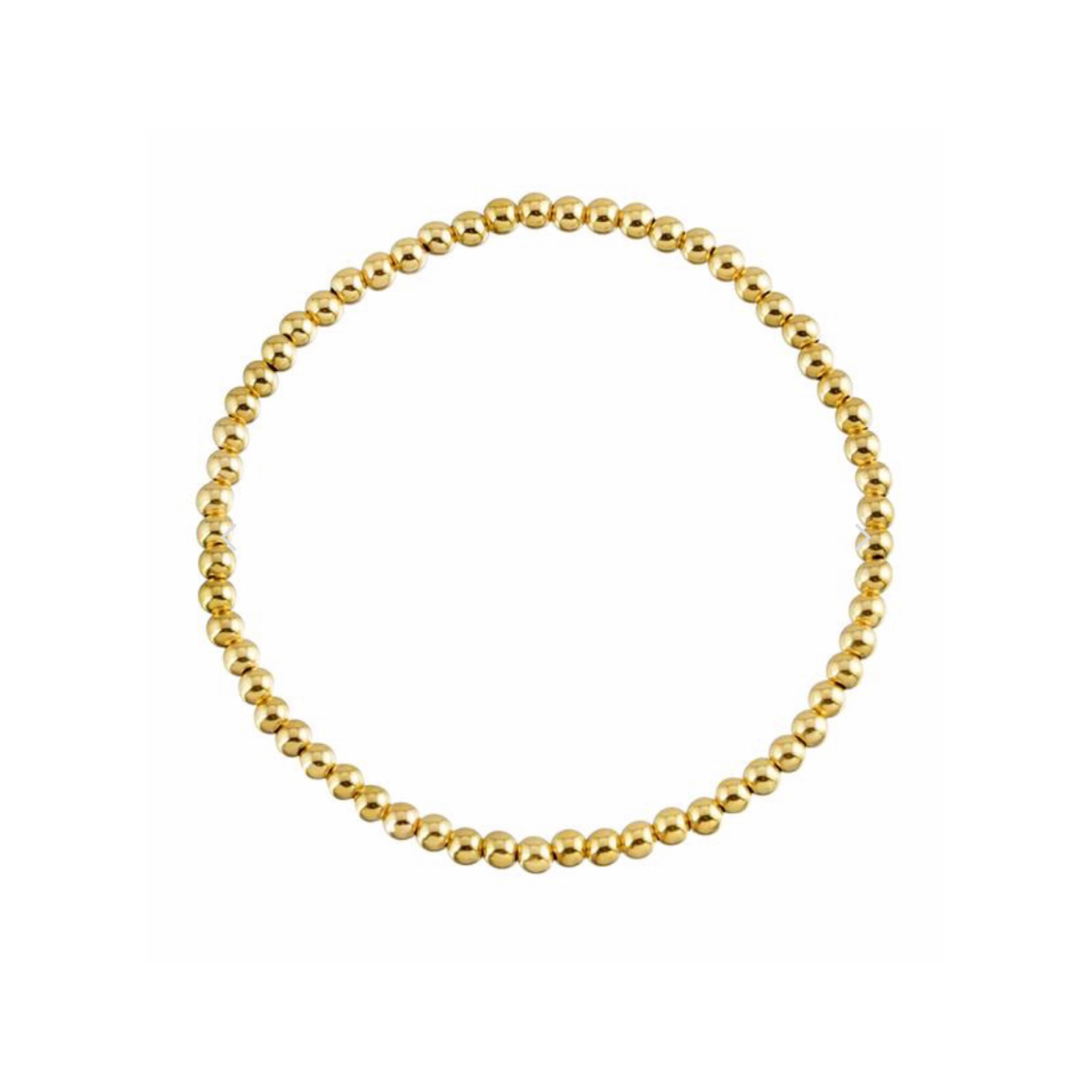 Small Gold Monica Beads