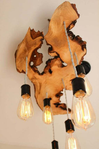 wooden lights