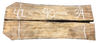 "Spalted Maple Live Edge Slab Bookmatch Set SS-210038 90""L x 40""W x 2.25""H"
