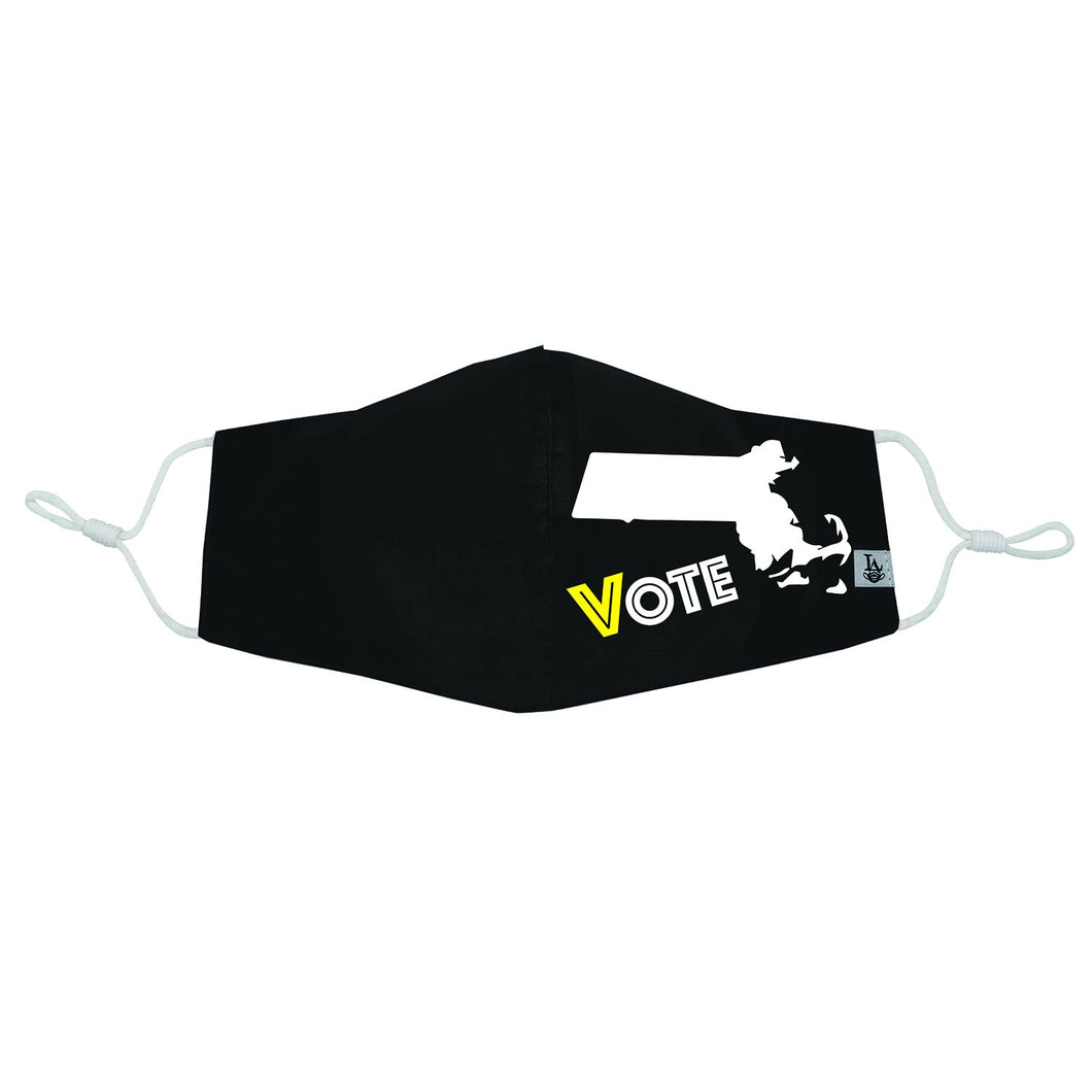 Massachusetts VOTE Mask