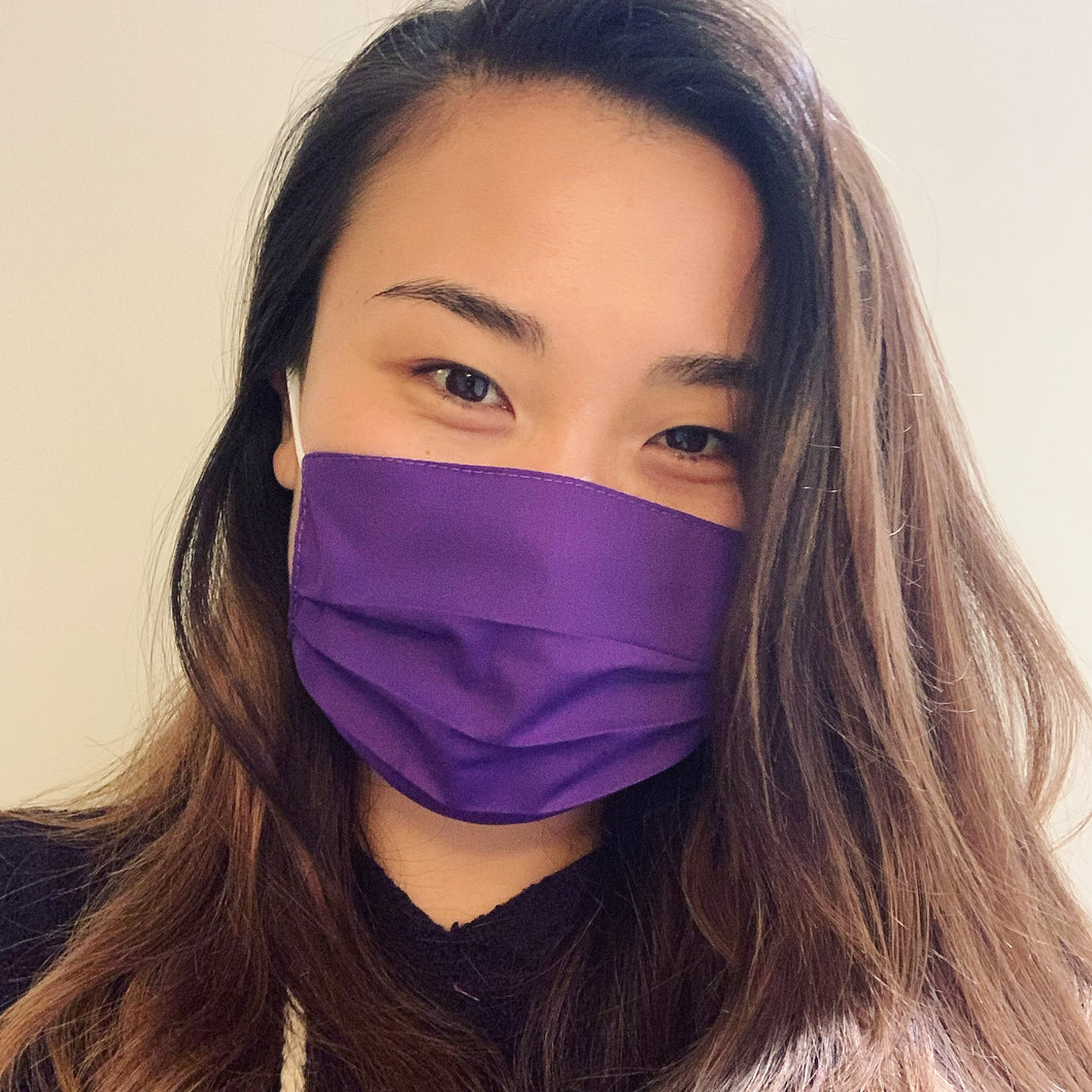 Purple Face Mask