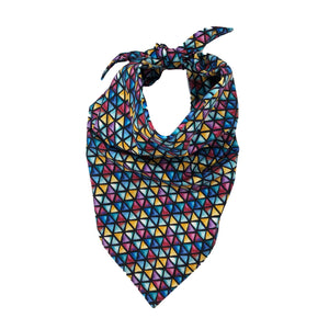 Jewel Tone Bandana With Filter & Nose Wire