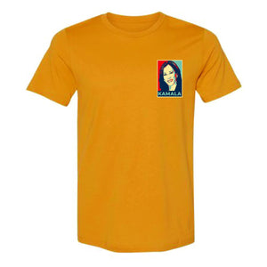 Pop Art Kamala Portrait Adult T-Shirt