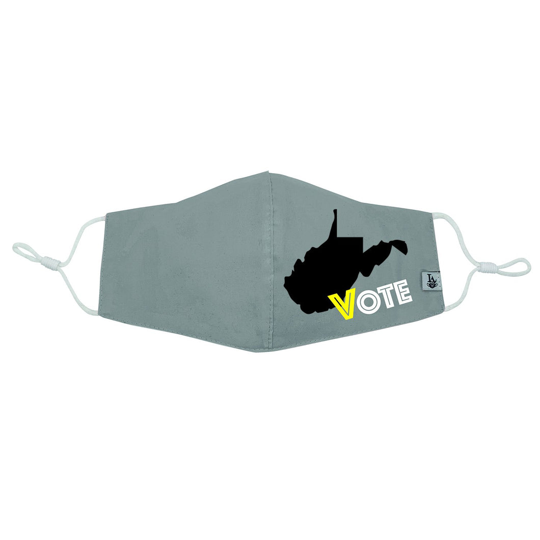 West Virginia VOTE Mask