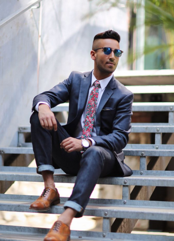 How to match with your tie! The perfect short read so you wear your tie right!