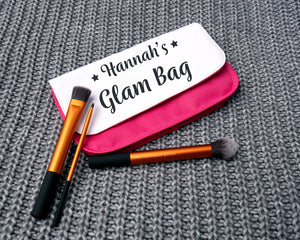 Personalised Pencil Case/ Cosmetic Bag