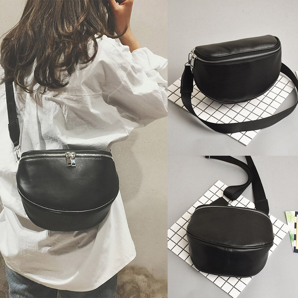 Women Retro Faux Leather Crossbody Adjustable Shoulder Bag Handbag Clutch-Handbags-SJI Shop