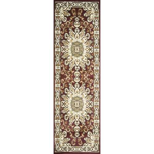 Meredosia Red/Brown Area Rug-Rugs-SJI Shop